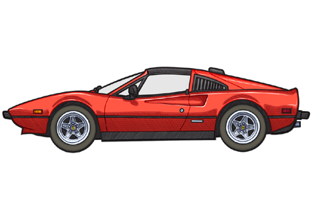 451 picture of an 1979 Ferrari 308 GTSi QV