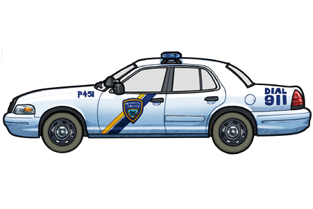 451 picture of a 2003 Ford Victoria Philadelphia Police Car
