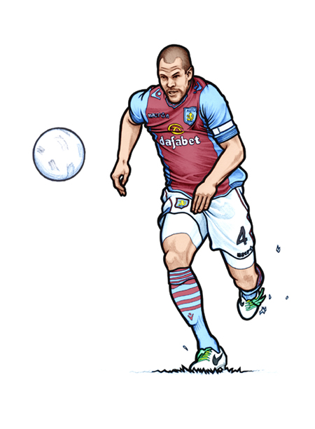 451 portrait of Aston Villa and Holland  Central Defender Ron Vlaar